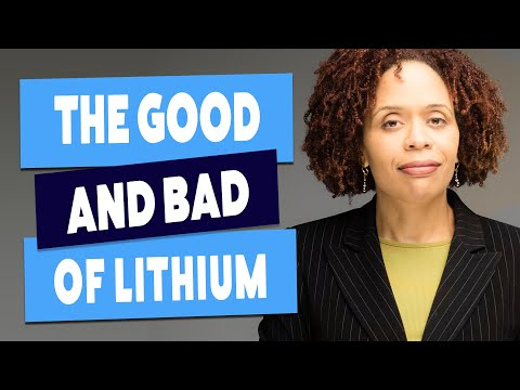 Bipolar Disorder - When We Use Lithium