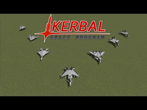 Fighter Jet Showdown (Part 2) - Experimental Jets - Kerbal Space Program