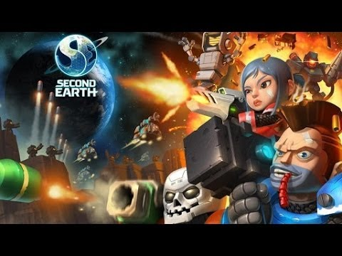 Second Earth Android GamePlay Trailer (HD) [Game For Kids]