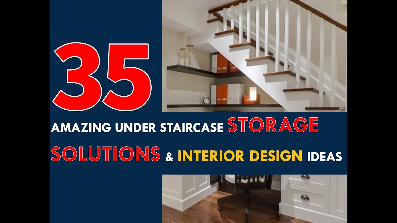 35 amazing under staircase storage solutions and interior design ideas 2017