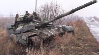 Украинский танк разведка в зоне АТО. ДНР ЛНР Новороссия