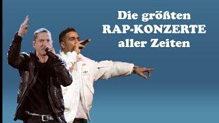 Die größten Rap Konzerte aller Zeiten