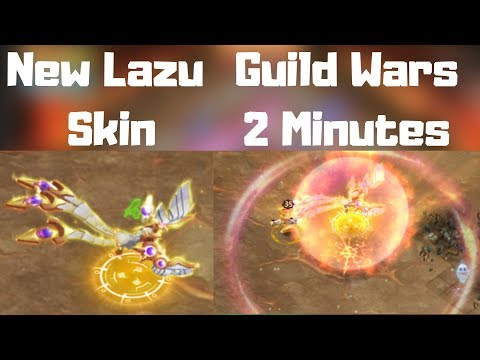 New Lazulix Skin Game-play | Guild Wars In 2 Minutes |Castle Clash
