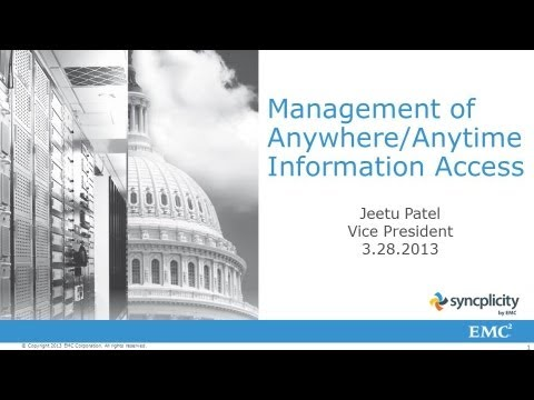 Mobile Solutions:  Management of Anytime/Anywhere Information Access - A PSP Forum