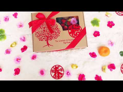 Happy Chinese New Year Premium Imported Fresh Fruits Gift Delivery