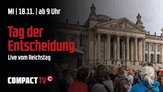 COMPACT-TV  live vom Protest gegen das Ermächtigungsgesetz