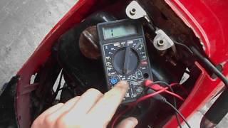 В скутере пропала зарядка. Как найти причину неисправности?(, 2016-08-07T02:39:45.000Z)