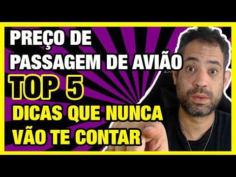 ☑ PREÇO DE PASSAGEM DE AVIÃO - TOP 5 DICAS QUE NUNCA VÃO TE CONTAR!