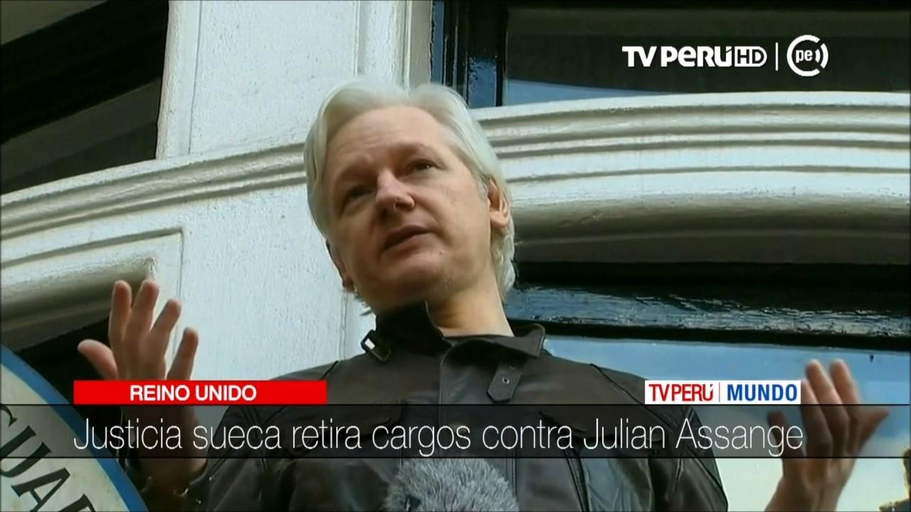 Download Reino Unido: Justicia sueca retira cargos contra Julian Assange
