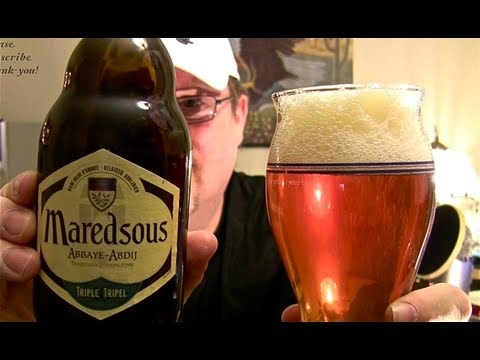 Maredsous Abbaye Triple (beer review 55)