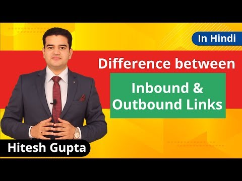 What Are Inbound And Outbound Links In SEO 2019   SEO Tutorials For Beginners In Hindi