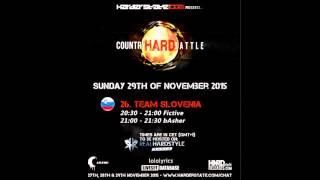 bAsher @ Harderstate Country Hard Battle 2015 (Team Slovenia)