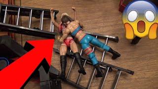 Womens WWE Action Figure Set Up