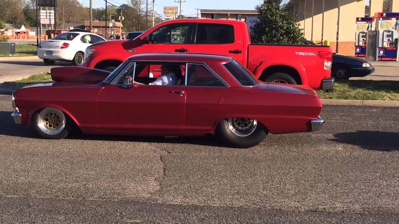All Chevy 64 chevy ii : Pro Street Chevy Nova II - YouTube