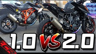 THE Super Duke Comparison 1.0 VS 2.0 | Is The 2.0 Better?