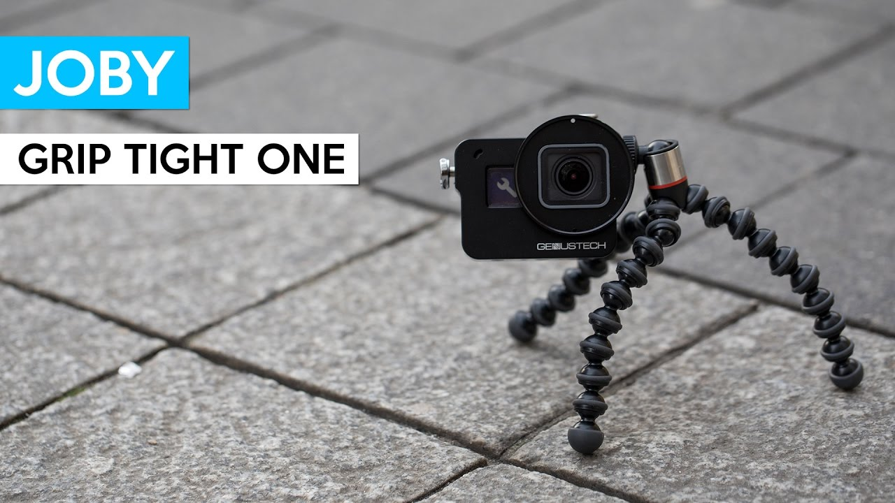 Joby Grip Tight One Gp Stand Mini Tripod For Your Iphone Or Gopro Gorillapod Small With Flexible Legs