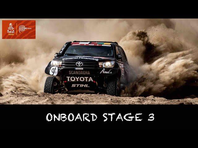 ONBOARD STAGE 3   Benediktas Vanagas   Dakar 2019