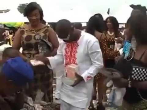 Dollar King Of Benin Spends his Money