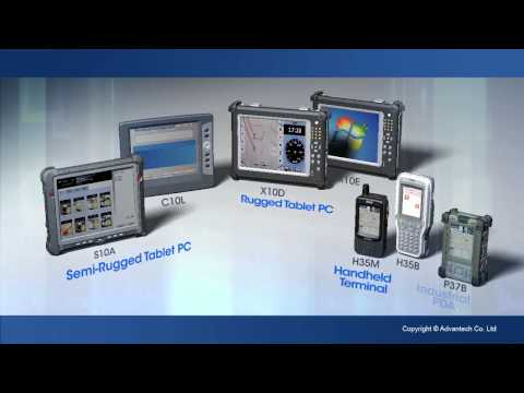 Industrial Portable Computers Introduction, Advantech(EN)