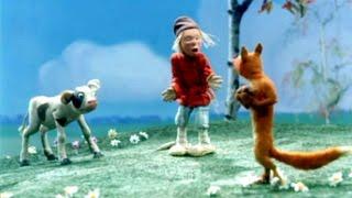 Лиса и Волк - первый цветной советский мультфильм (1936) СССР