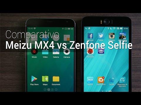 Comparativo: Meizu MX4 vs Zenfone Selfie | Tudocelular.com