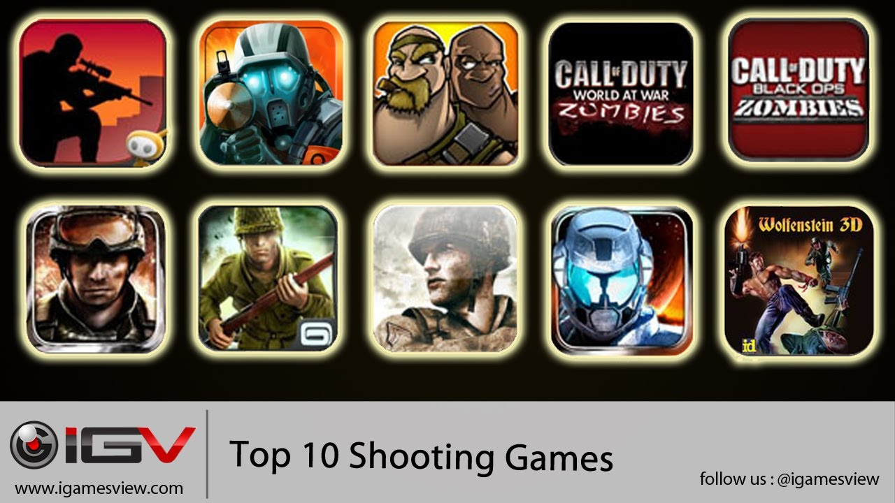 popular iphone games top 10 shooting for iphone ipod touch and 12793