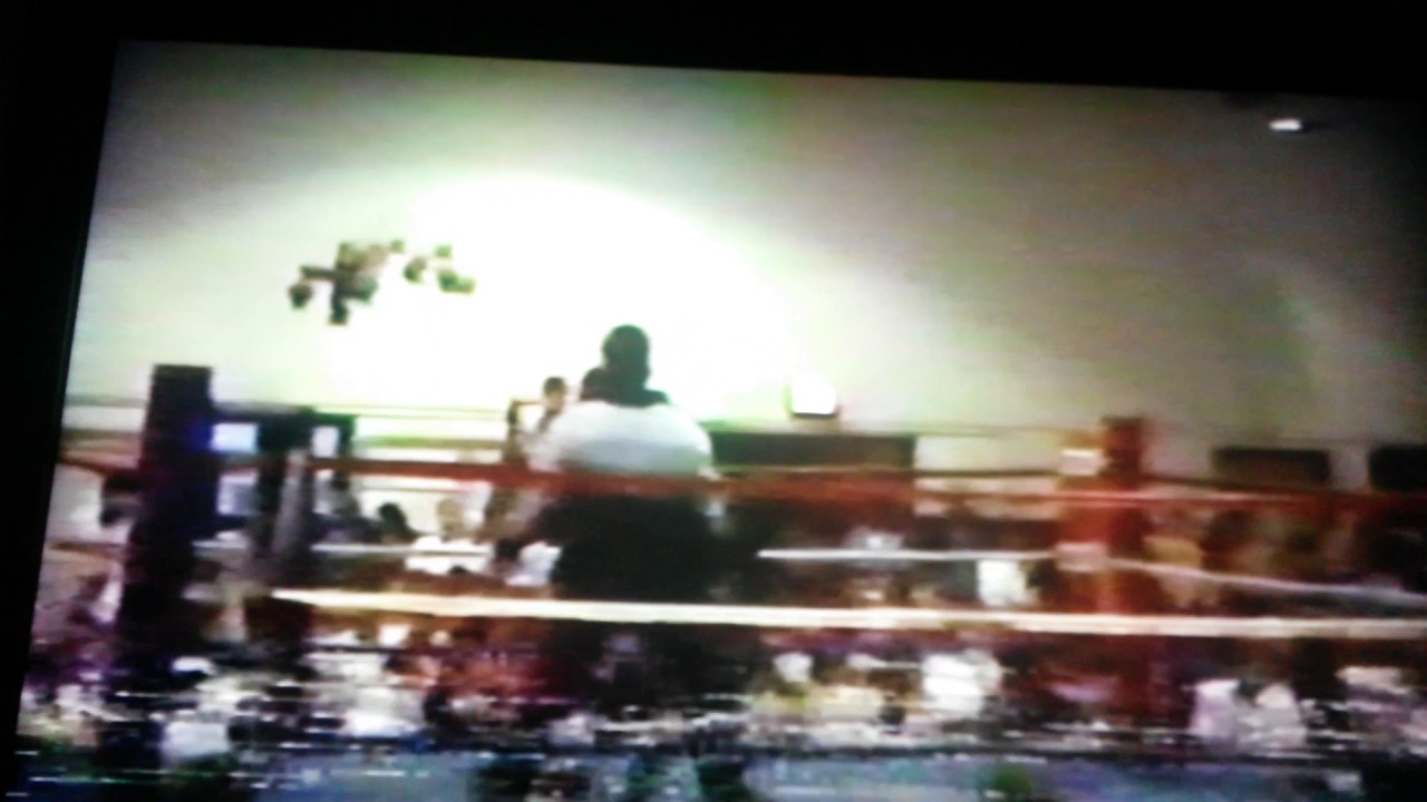 Lake Norman Muay Thai- Ken Shamrock amateur fight video