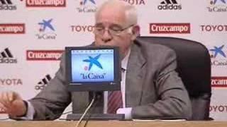 Luis Aragonés deja a Raúl fuera de la Eurocopa