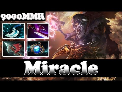 Dota 2 - Miracle- 9000 MMR Plays Lion vol 4 - Pub Match Gameplay