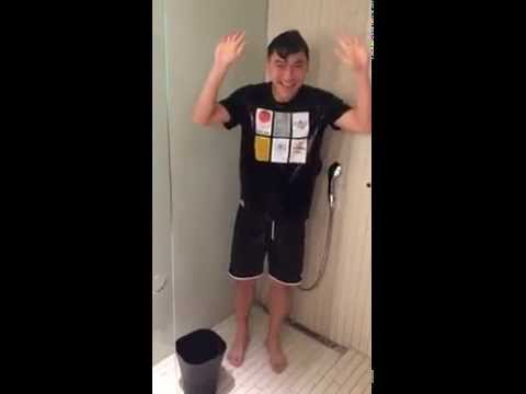 Tan Boon Heong with ALS Ice Bucket Challenge‬