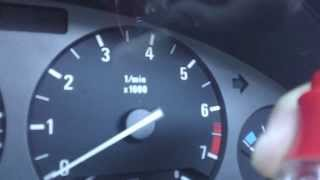 bmw e36 replacing instrument cluster bulbs