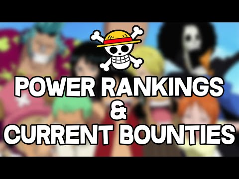 Straw Hat Pirates Power Rankings and Bounties: One Piece