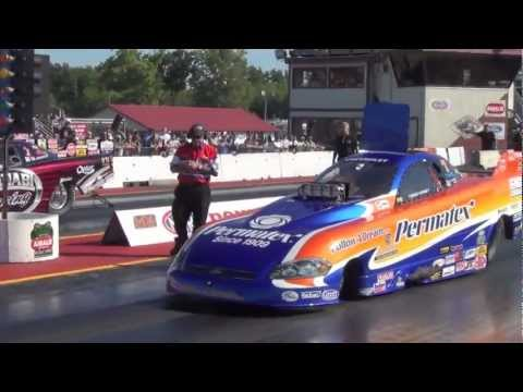 Alcohol Funny Car and Alcohol Dragster Regional Race at New England Dragway 2012