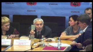 Пресс-конференция «Детская книга войны. Дневники 1941-1945гг.» (14.04.2015) / ICMOSRU