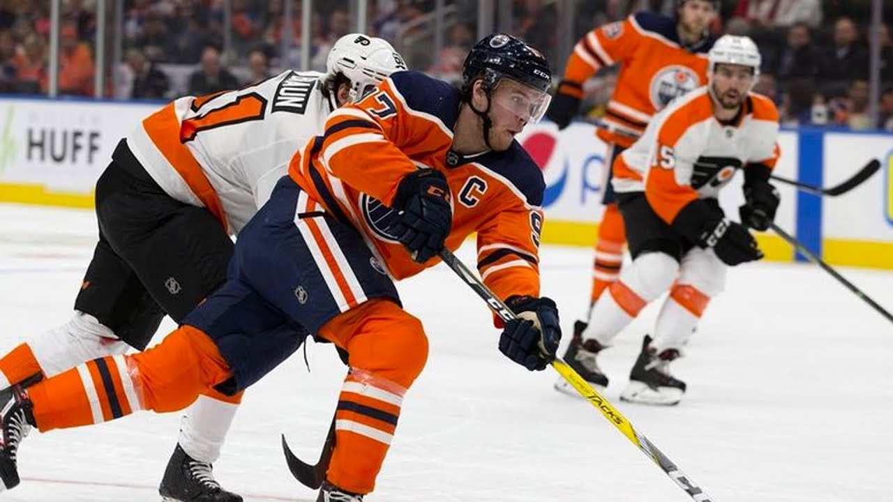 NHL Performers Of The Week: Connor McDavid Puts On A Show vs. Philly