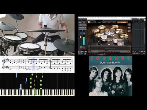 don't-stop-believin'-by-journey-on-drums