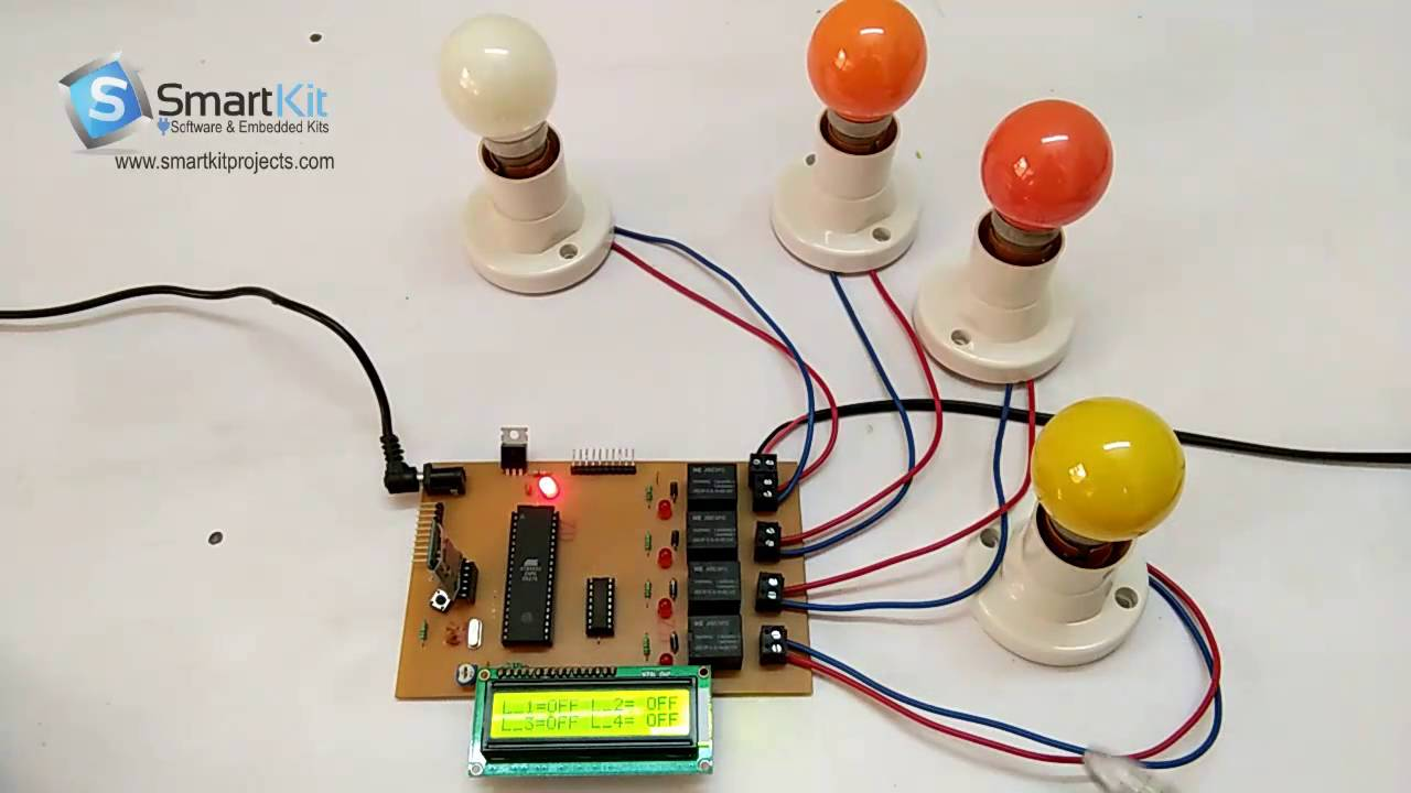 Voice Control Home Load Automation Using 8051 Based Microcontroller Copyright Of This Circuit Belongs To Smart Kit Electronics In Projects