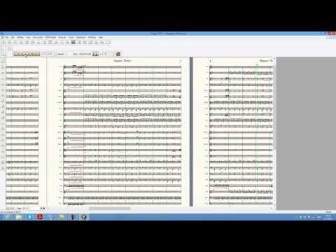 Kid Icarus Uprising - Magnus theme (Concert band sheet music)