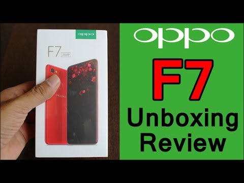 OPPO F7 Unboxing & Review