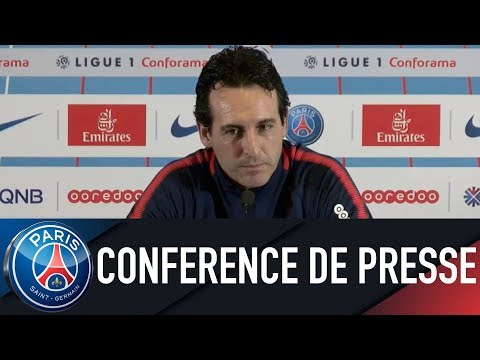 Paris Saint-Germain press conference PARIS SAINT-GERMAIN vs EA GUINGAMP
