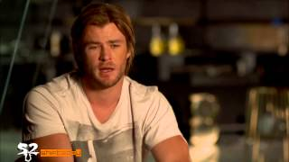 The Avengers Behind The Scenes and Cast Interviews