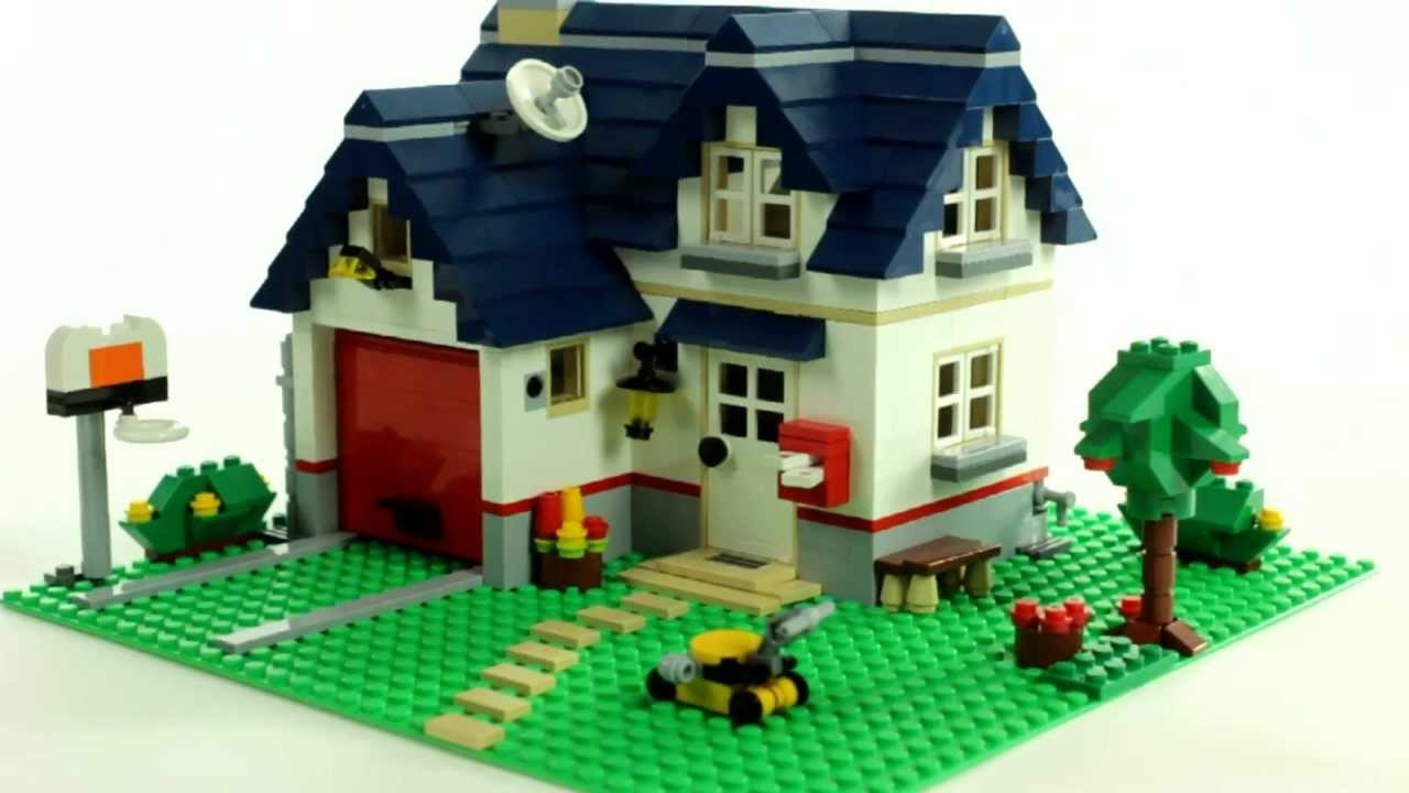 LEGO Creator Apple Tree House  レゴ Muffin Songs Toy - Lego house interior