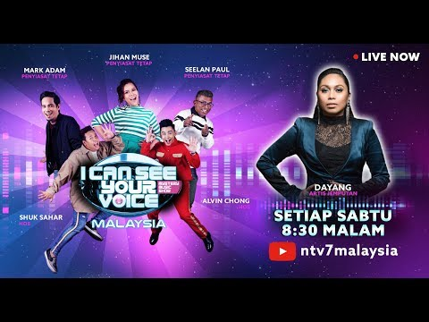 [LIVE] I Can See Your Voice Malaysia Minggu 11  bersama Dayang ! | #ICSYVMY