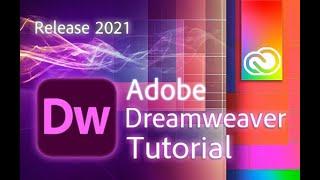 Dreamweaver - Tutorial for Beginners in 12 MINUTES!  [ 2021 Updated ]