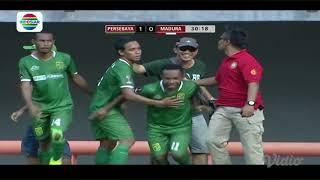 Video Gol Pertandingan Persebaya Surabaya vs Madura United