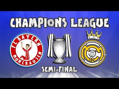 🏆BAYERN MUNICH vs REAL MADRID🏆 (Champions League Semi-Final 2018)