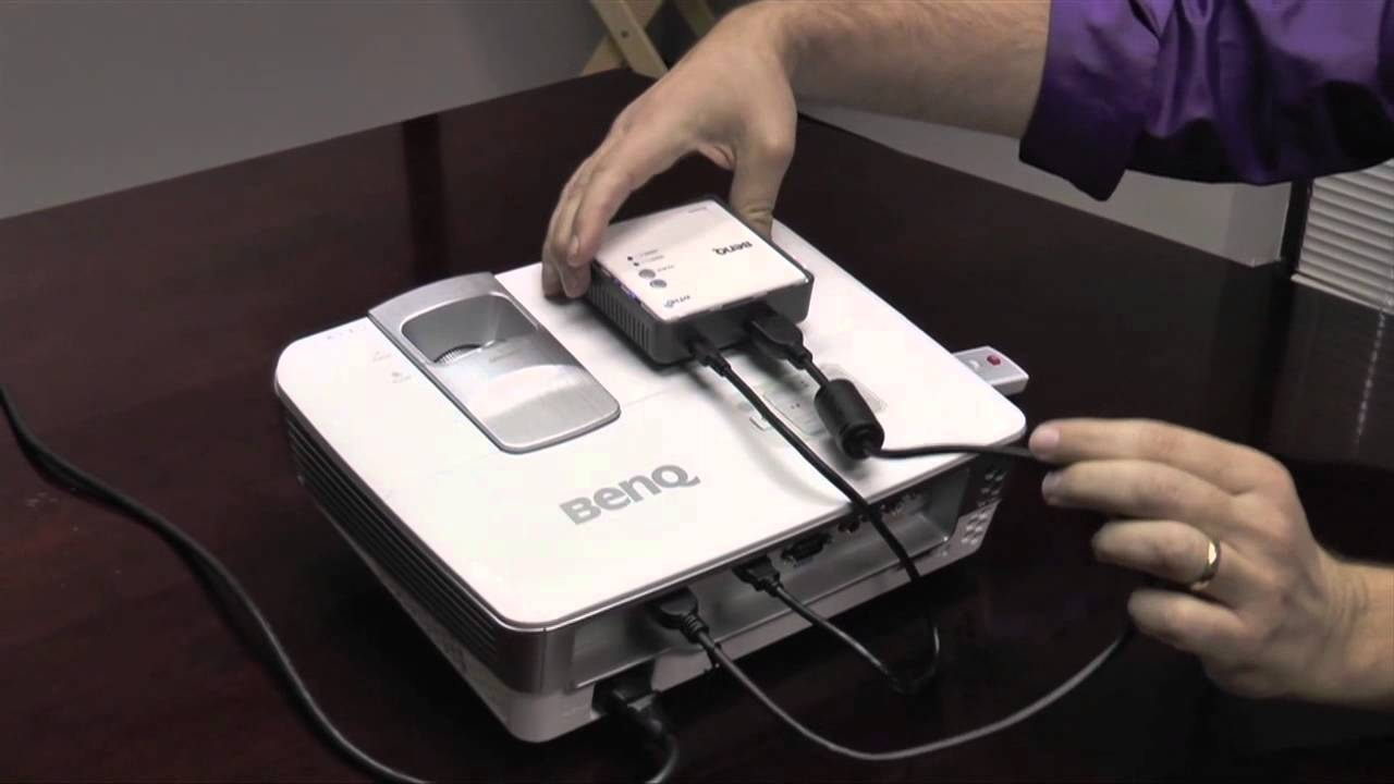 Benq Wireless Full Hd Kit In Action Youtube