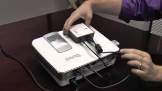 BenQ Wireless Full HD Kit in Action