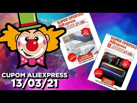 Cupons Aliexpress 13/03 – SSD e Carregador Ugreen/ China Dicas