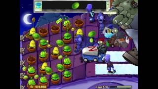Plants vs Zombies Gameplay Part 17 - Zomboss